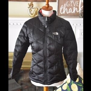 Girls The North Face 550 Goose Down Puffer Jacket